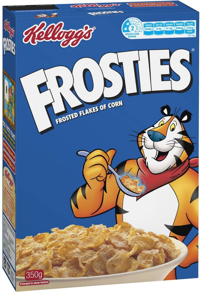 Box of Kellogg's Frosties